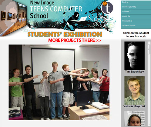 Teens Computer School. best project of our students