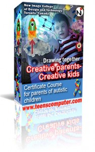 Drawing together. Certificate Course for Parents of autistic children