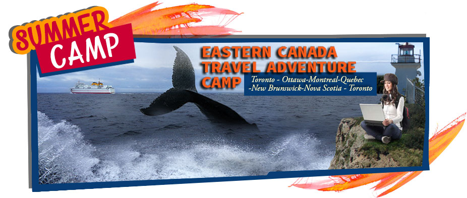 Canada travel summer camp for teens and kids